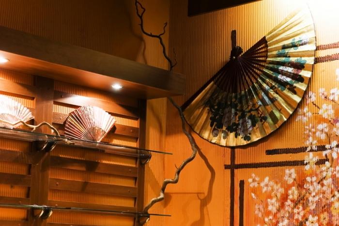 аксессуары в японской гостиной