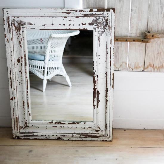 Винтажное зеркало в технике декупаж