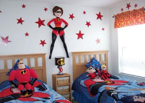 Комната для двойняшек-мальчиков