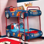 Фото 105: Двухэтажная кровать в виде машин