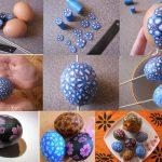 Фото 100: Декор яиц полимерной глиной