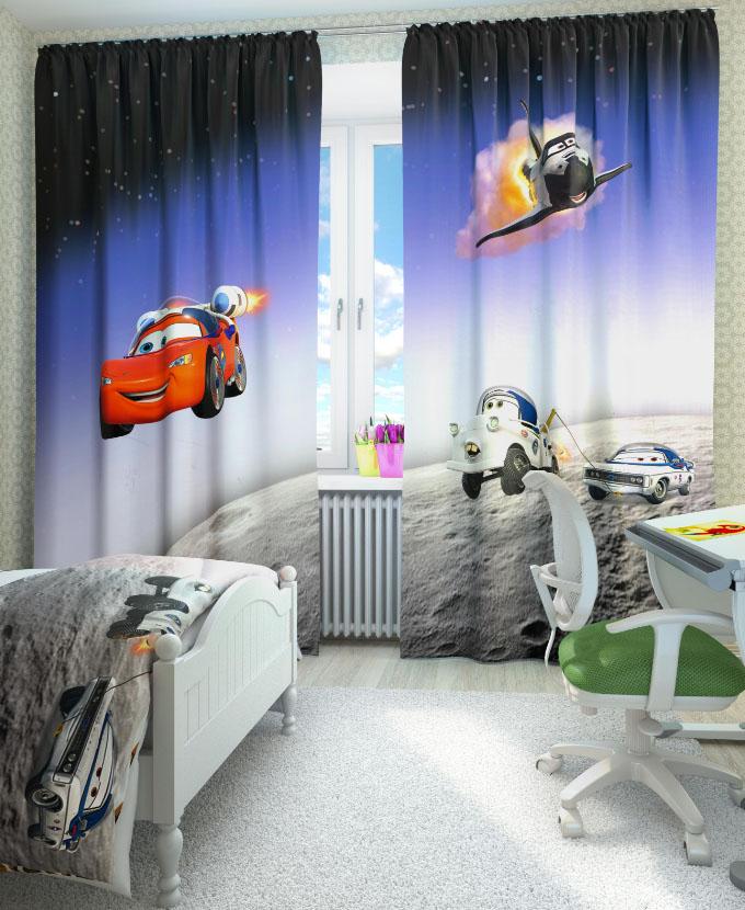 Идеи штор для детской мальчика фото