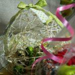 Фото 83: Яйцо-гнездо из ниток