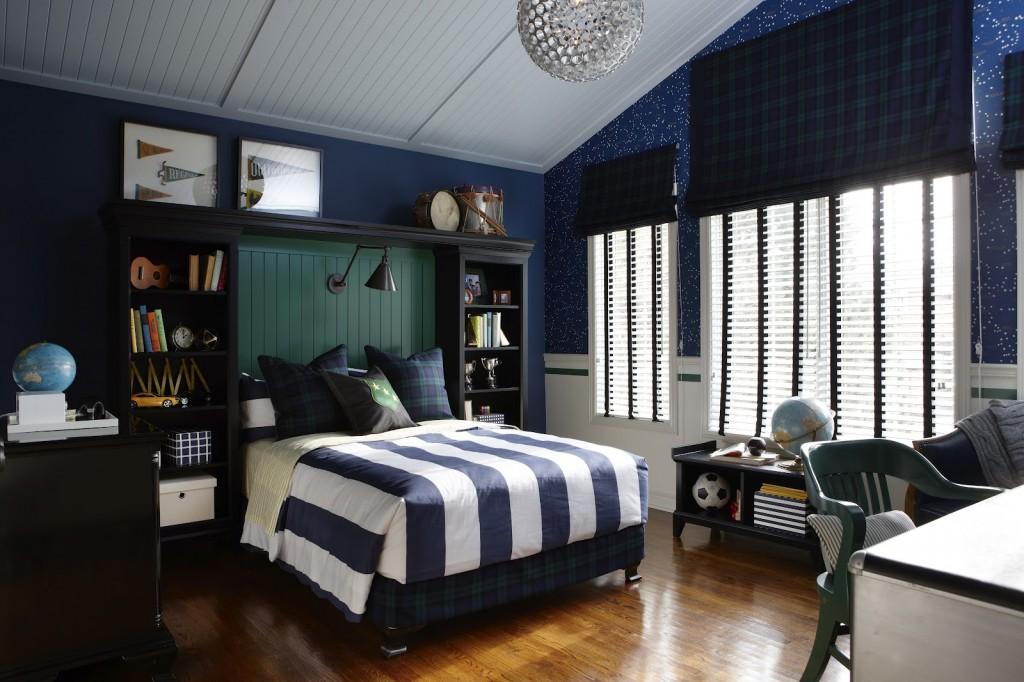 Фото спальни интерьер для мальчиков