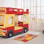Фото 107: Детская кровать - автобус для мальчиков
