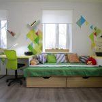 Фото 95: Ламинат в детской комнате для мальчика