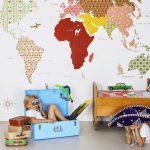 Фото 199: Обои континенты в детской