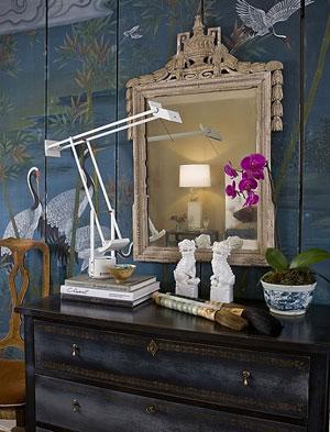 Орхидея в винтажном стиле