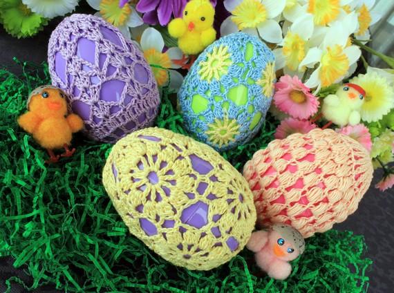 ажурные пасхальные яйца своими руками