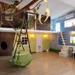 Фото 123: Домик на дереве в детской для мальчика