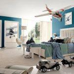 Фото 205: Оформление комнаты для любителя самолетов
