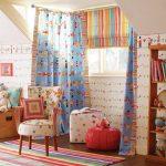 Фото 101: Шторы с рисунком в детскую комнату для мальчика