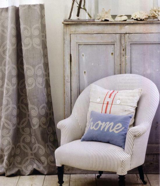 Текстиль в винтажном интерьере