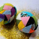 Фото 60: Украшение яиц кусочками фетра