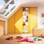 Фото 120: Встроенный шкаф в детской
