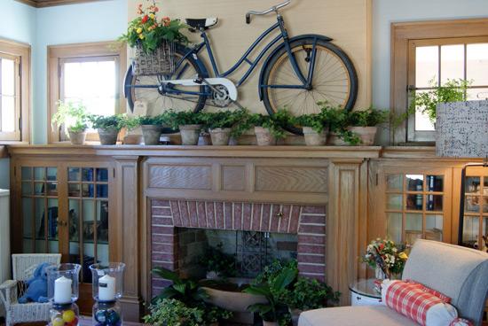 где поставить велосипед в квартире фото
