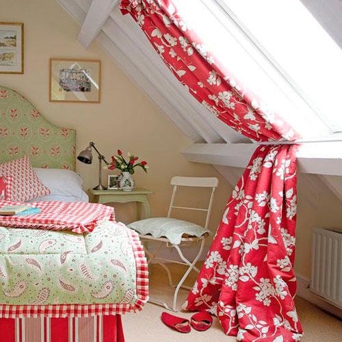 Мансардные комнаты дизайн фото