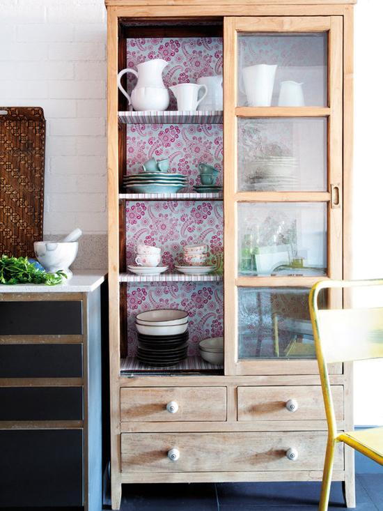 деревянная мебель в квартире