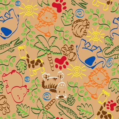 Вариант расцветки  ковролина в детскую комнату