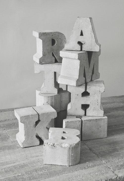 Объемные буквы своими руками из гипса