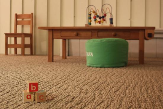 Ковролин в детскую комнату на тафтинговой основе