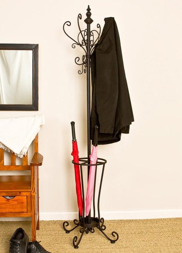 Кованая подставка для зонтов