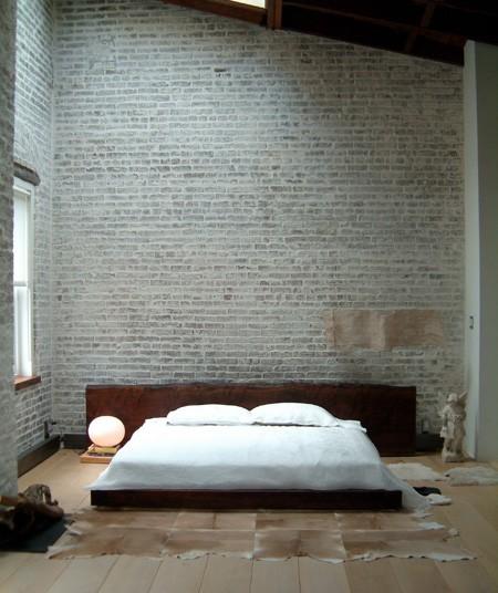Красивая спальня в стиле минимализм