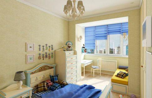 Детская комната на балконе фото