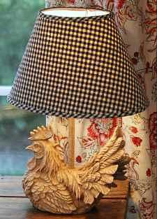 светильник в стиле кантри