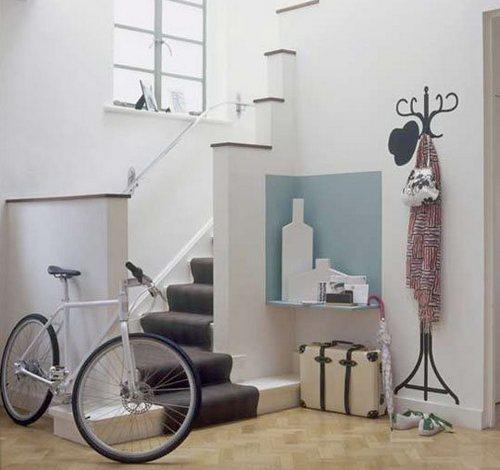 Как хранить велосипед в квартрире зимой ( фото)