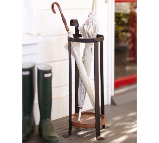 Металлическая стойка для зонтов в скандинавском стиле