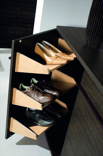 Ящик для хранения обуви в прихожей