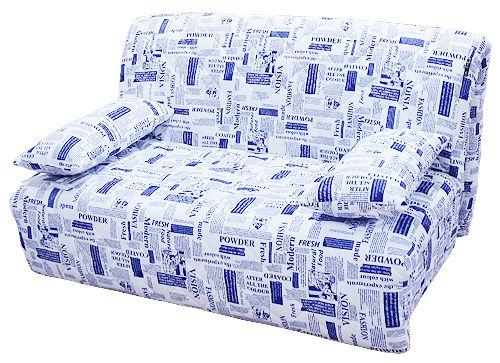 """Обивка мебели - """"газетный принт"""""""