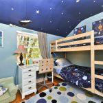 Фото 101: Детская комната в космическом стиле для двух мальчиков