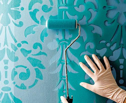 трафареты фото для стен