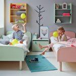 Фото 32: Небольшая детская комната для разнополых детей