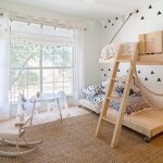 Фото 162: Детская комната для двоих детей в эко стиле
