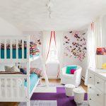Фото 161: Маленькая детская комната для двоих детей фото