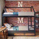 Фото 164: Детская комната в детской для двоих детей в стиле лофт
