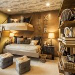 Фото 98: Детская комната в стиле кантри для двух детей