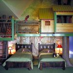Фото 136: Детская комната в стиле джунгли