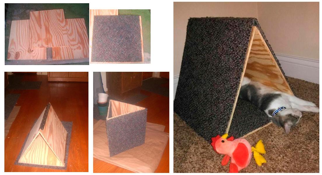 Изготовление домика из фанеры