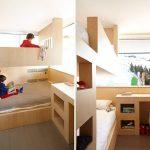 Фото 22: Использование двухъярусной кровати в комнате для двоих детей
