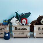 Фото 93: Хранение игрушек в ящиках с именами