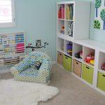 Фото 94: Зона для хранения игрушек в детской комнате для двух детей