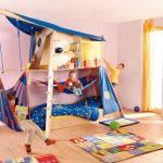Фото 96: Общий игровой домик в детской комнате