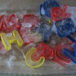 Фото 57: Объемные буквы изо льда