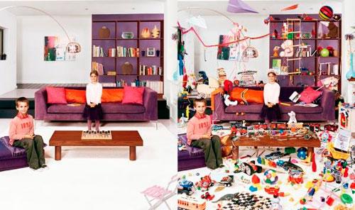 Детская в гостиной: как не превратить комнату в склад игрушек