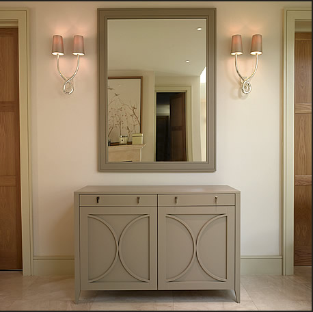 Подсветка зеркала с помощью бра