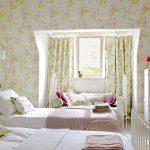 Фото 105: Детская комната в стиле прованс для двух девочек